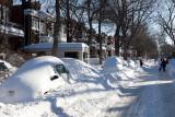 Après la tempête de neige du siècle...