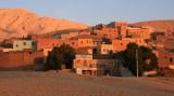 Un petit village près de Thèbes