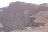 Tebing di kawah Al- Wahbah