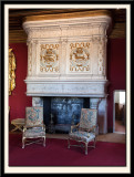 Chairs and Fireplace