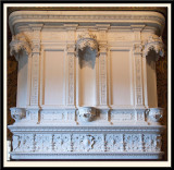 Mantle Above the Fireplace