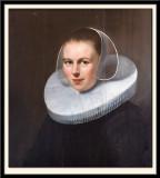 Femme a la Collerette