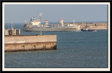 MV Hansa Stockholm entering Dover Harbour