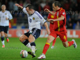 Wales  v Scotland FIFA 2014 World Cup Qualifier football