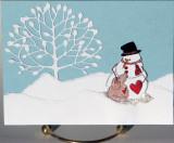 Christmas card Clean & Simple