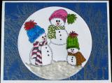 Christmas Card Snowmen