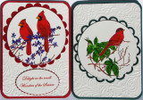 Set of cards for Christmas