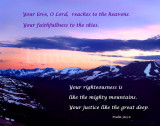 Psalm 36 Your Love O Lord 11x14.jpg