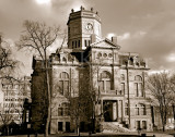 Butler County Courthouse West Side sepia.jpg