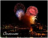 Cincinnati Riverfest Fireworks '06