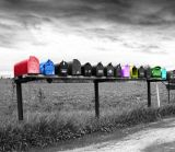 row of colors...