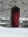 the red door...