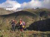 Dos pedazos de compañeros montañeros