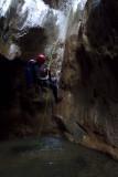 Carlos llegando a la cueva