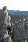 David y Carlos en el último puente