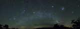 Orion Spiral Arm of Milky Way and Magellanic clouds 13 image mosaic