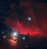 Horsehead Nebula HaLLRGB 210 140 120 90 70 total of 10 hours 30 minutes