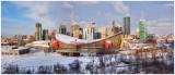 Winter Pano Cityscape 2012