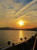 Mediterranean sunset...