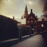 Snow in Groningen