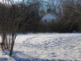 la grange en hiver, Bois de Coulonge