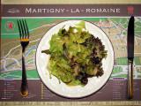 Salade verte à Martigny