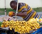 Vendeur de bananes