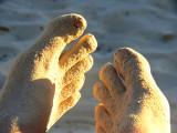 mes pieds