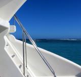 horizon bleu aux Caraïbes