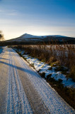 3rd December 2012  icy road
