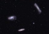 Leo Trio (NGC 3628, M66, and M65)