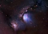M78 and NGC 2071