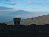 Loo with a view to Mt. Meru
