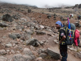 the way to Baranco camp