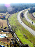 I-95 viewed from the Sombrero Observation Tower