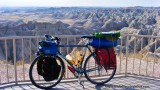 403   Leo touring South Dakota - Surly Long Haul Trucker touring bike