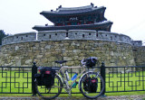 406    Eddie touring South Korea - Surly Long Haul Trucker touring bike