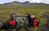 414    François touring Iceland - Françonet touring bike