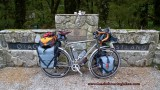 417    Ron touring New Zealand - Sabbath Silk Route touring bike