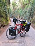 433    Frank touring Ireland - Vittorio Randonneur touring bike