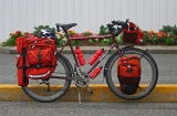 092  Sebastian - Touring Canada - Surly Long Haul Trucker touring bike