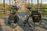 084  Alika - Touring Iowa USA - Surly Long Haul Trucker touring bike