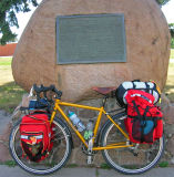 096  Nancy - Touring Minnesota USA - da Vinci Touring touring bike