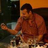 Man from Malaysia appreciating a Nub Maduro