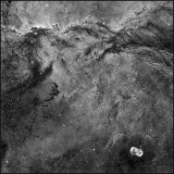 NGC 6188 Ha only