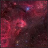NGC3324 and NGC3293