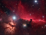 The Horsehead nebula region