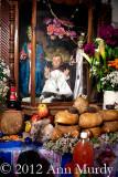 Detail of Rosa's altar