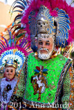 Pair of Español dancers