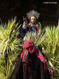 Cofradía Man on Palm Sunday